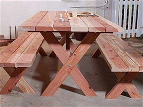 build   picnic table instructions