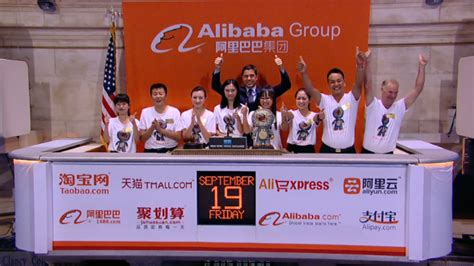 alibaba ticker boom alibaba surges 38 in huge ipo debut sep 19 2014