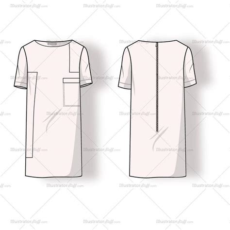dress sketch template s colorblock dress fashion flat template