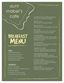 breakfast menu templates 1000 images about breakfast menu format on