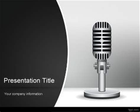 template powerpoint radio radio powerpoint template