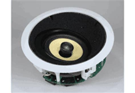 in ceiling speakers review noble fidelity l 65 lcrs in ceiling loudspeaker reviewed