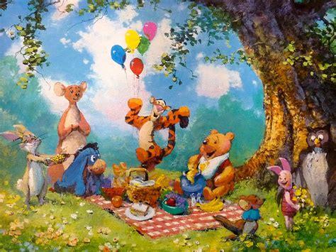 winnie the pooh painting coleman winnie the pooh splendiforous picnic