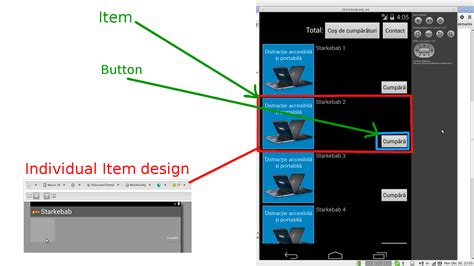 layout findviewbyid null android listview android with button in listitem