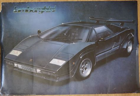 Lamborghini Posters The Hunt For This Lamborghini Countach Poster Retromash