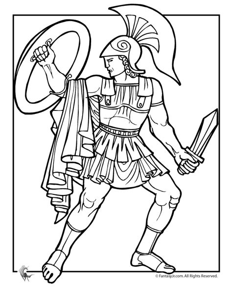 Greek Coloring Book Pages | greek mythology coloring pages coloring home