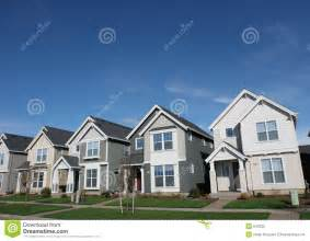House Photos Free Suburban Houses Royalty Free Stock Photo Image 643225