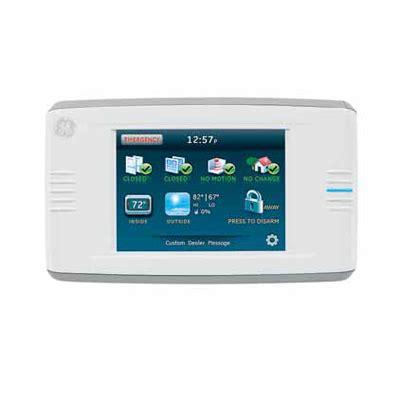 Panel Alarm Omni 400 simon xt xti two way talking touch screen intruder alarm
