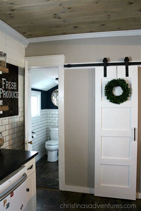Sliding Barn Door Diy Diy Sliding Barn Door Christinas Adventures