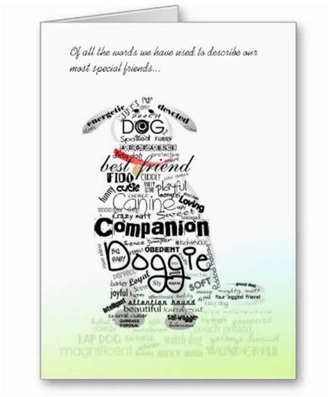 words to describe dogs sympathy cards sympathy card words to describe