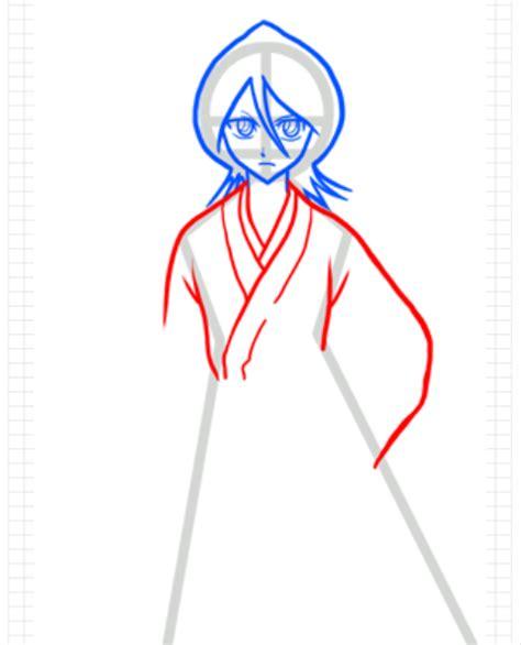 tutorial menggambar baju cara menggambar anime rukia kuchiki part 1 goyang pensil