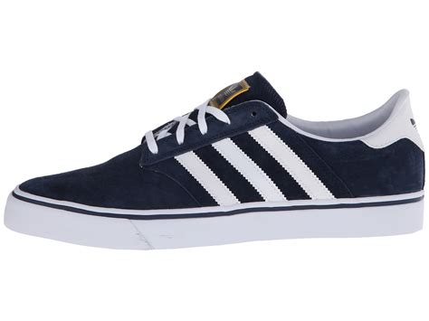 Adidas Seely Navy adidas seeley premiere in blue for collegiate navy
