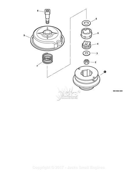 echo srm  sn   parts diagram  echomatic pro head