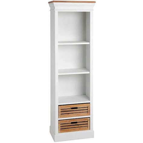 Rak Buku Dinding Kecil rak buku kayu mahoni ukuran kecil finishing cat duco putih