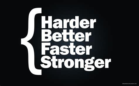 harder better faster stronger daft harder better faster stronger wallpaper 984544