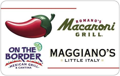 On The Border Gift Card Restaurants - free 63 dollar gift card for chilis macaroni grill on the border mexican grill