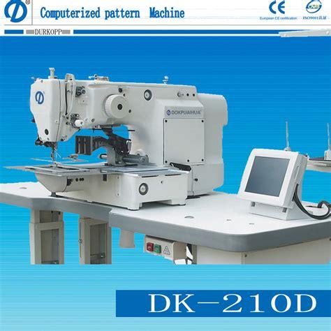 pattern sewing machine price china automatic pattern sewing machine dk 210d china