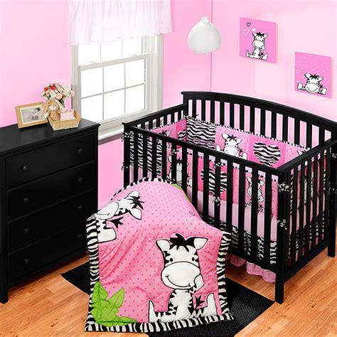 new baby zebra 7 pc crib bedding set blanket blankets