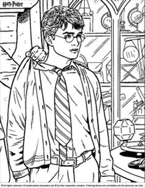 Harry Potter coloring page | Värityskuvat ~ Harry Potter