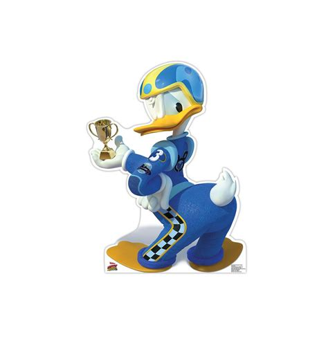 Donald Duck Racer size donald duck trophy disney s roadster racers