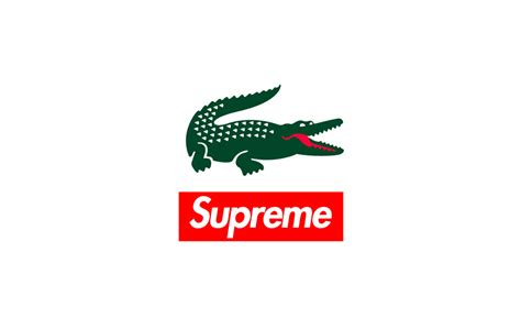 T Shirt Lacoste Addict 0 9 une collaboration entre supreme et lacoste pour cette