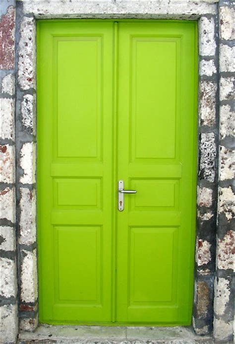 lime green front door doors pinterest
