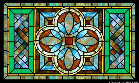 Leaded Glass Kitchen Cabinet Doors Stained Glass For Kitchens