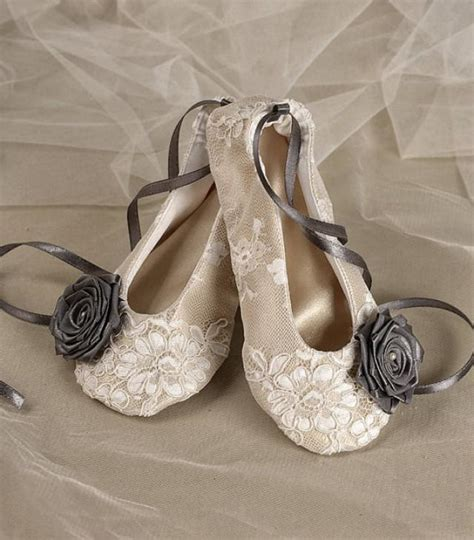 flower ballerina shoes satin flower shoes baby toddle ballet flats for