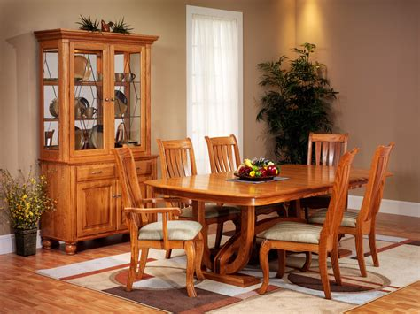 Amish Oak Dining Room Furniture Dining Table Hton Amish Dining Table