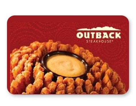 Outback Steakhouse Gift Card Special - 20 off outback steakhouse gift at kroger and 4x fuel points slickdeals net