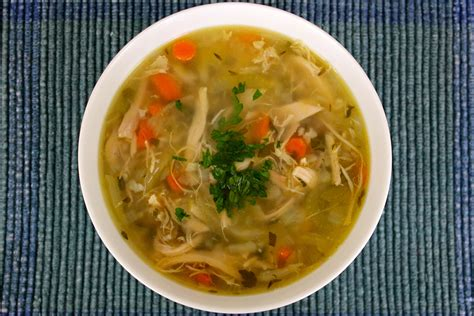 chicken soup for flu season balance