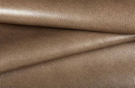 Traditional Upholstery Leatherette Vinyl Upholstery In Warm Taupe Traditional