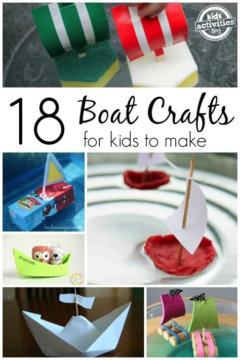How To Make A Small Paper Boat - 18 boat crafts for to make boat crafts boating and