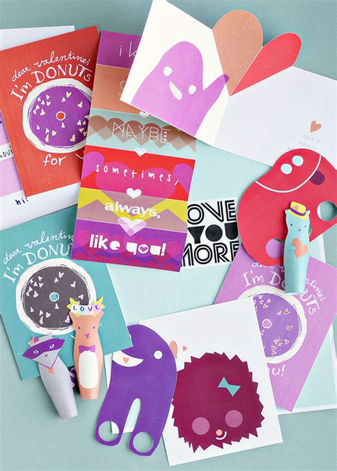 printable valentine paper crafts printable valentines for everyone handmade charlotte