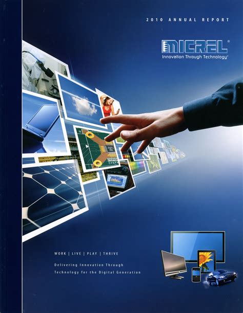 information technology annual report template lacp 2010 vision awards annual report competition micrel