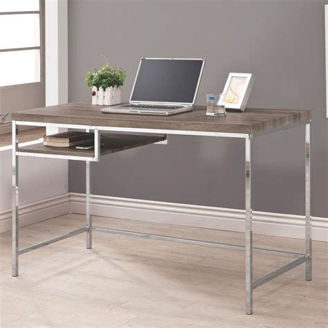 grey metal computer desk steal a sofa furniture outlet