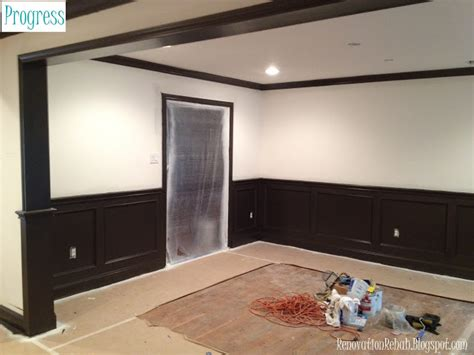 The Images Collection Of Wall Cream And Black Home Decor | renovation rehab let the painting commence