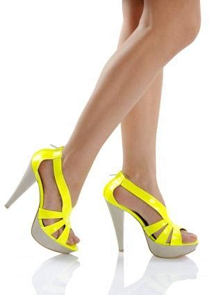 neon color high heels neon colored high heels