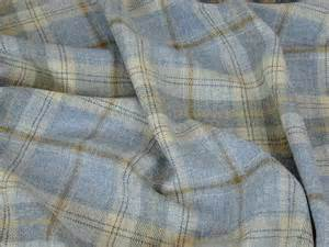 Tartan Material For Upholstery 100 Wool Tartan Plaid Cornflower Blue Fabric Curtain