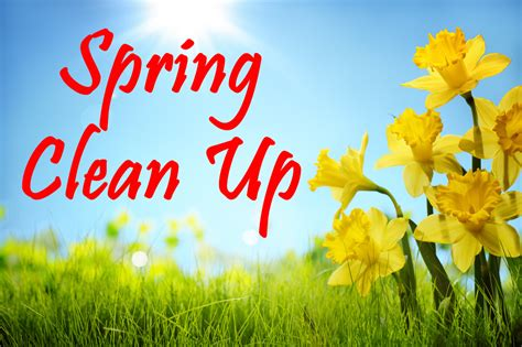 spring cleanup claverack public library