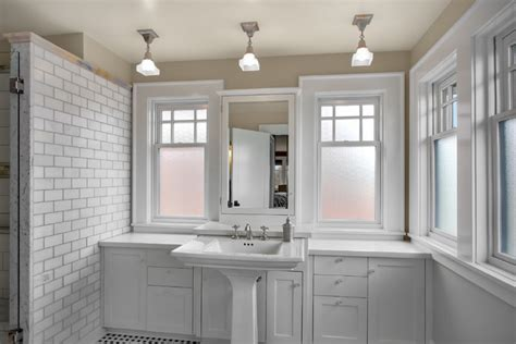 Craftsman Bathroom Tile by Phinney Residence Master Bath Craftsman Bathroom