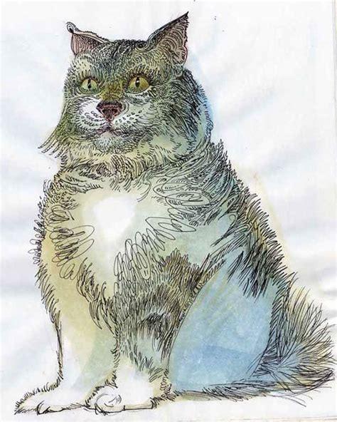 cat doodles pen doodles on risd portfolios