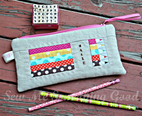 Patchwork Pencil Pattern - sew me something patchwork paper pieced