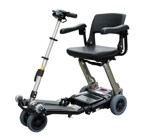 lightweight portable wheelchairs elite portable folding lightweight mobility scooter