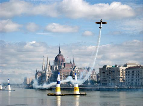 Bull Air Race Budapest Bull Air Race The River Danube Budapest River
