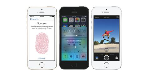 Apple Introduces Iphone by The New Apple Iphone 5s Introduces Touch Id
