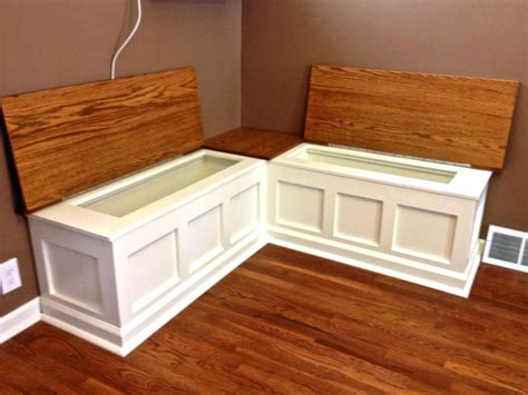 diy kitchen bench with storage breakfast nook with storage bradcarter me