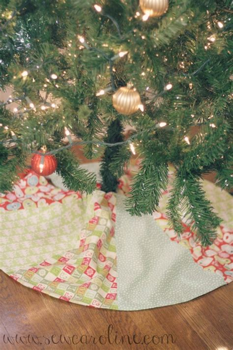 diy christmas tree skirt diy pinterest