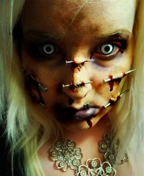scary halloween    trends ideas