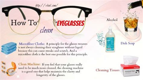 top ways on how to clean eyeglasses lenses frames